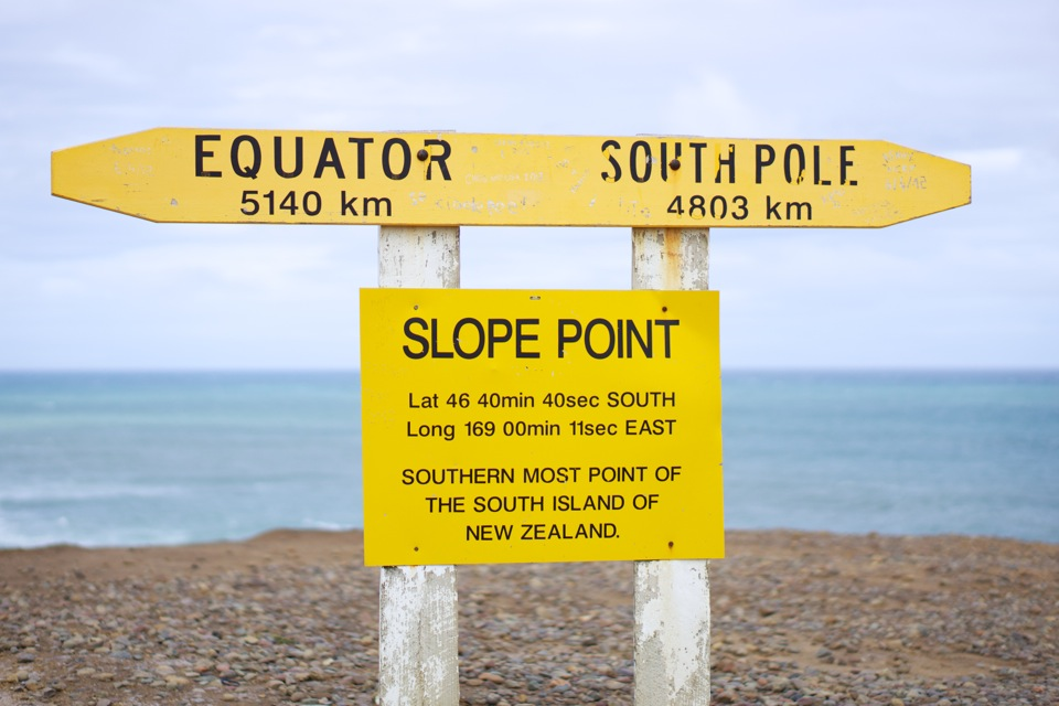 Point Slope, New Zealand